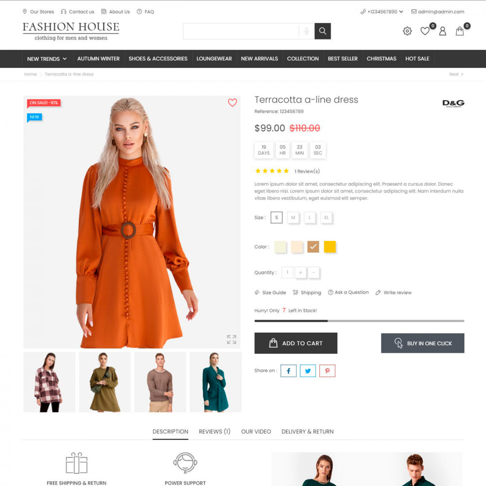 theme - Moda & Obuwie - Fashion House - Clothes & Shoes, Jewelry & Watch, Bags - 6
