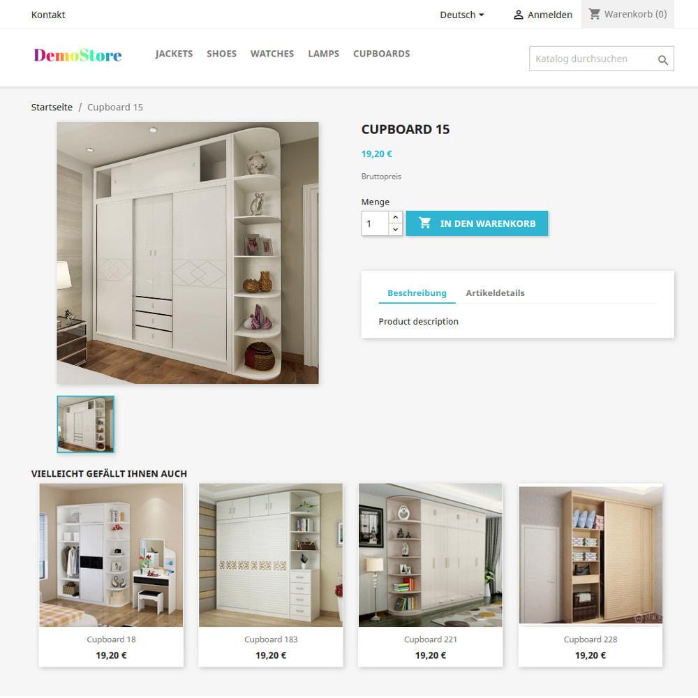 module - Cross-Selling & Produktbundles - Empfehlung ähnlich aussehender Produkte - 5