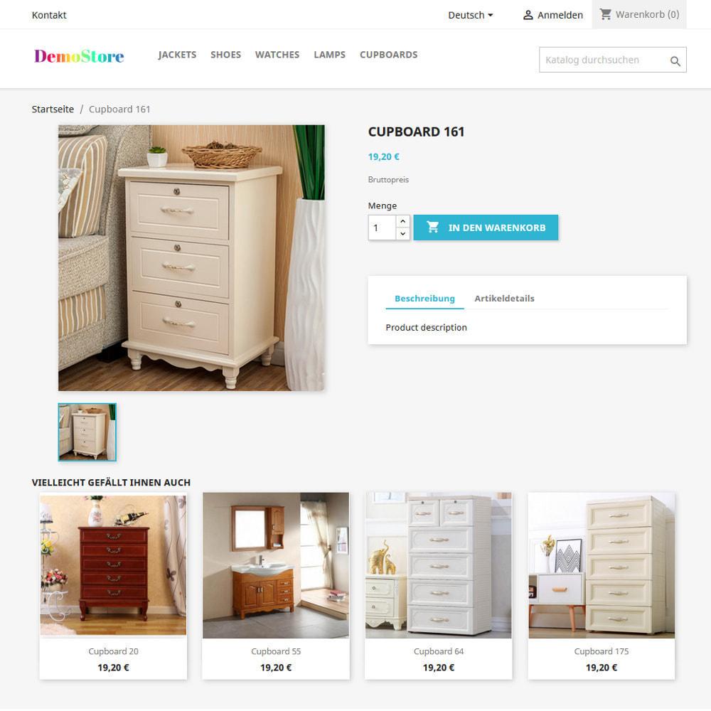module - Cross-Selling & Produktbundles - Empfehlung ähnlich aussehender Produkte - 6