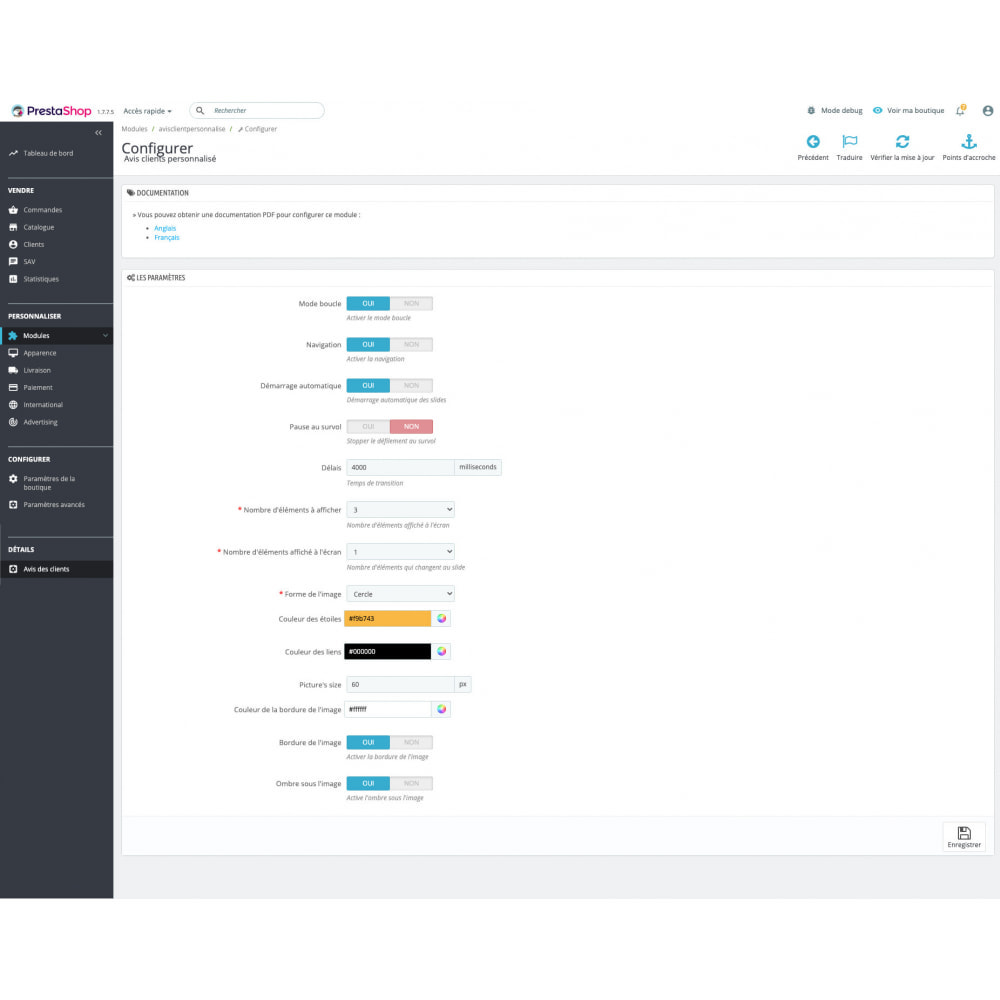 module - Отзывы клиентов - Personalized customer reviews - 5