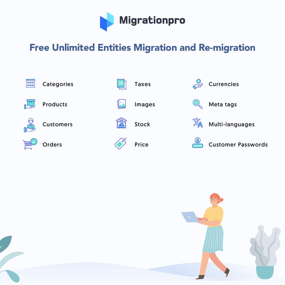 module - Data migration & Backup - MigrationPro: Ubercart to PrestaShop Migration tool - 2