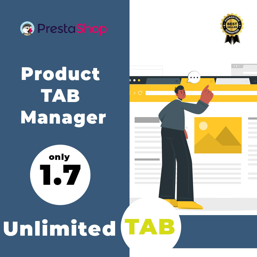 module - Blocks, Tabs & Banners - Product Tab Manager - 1