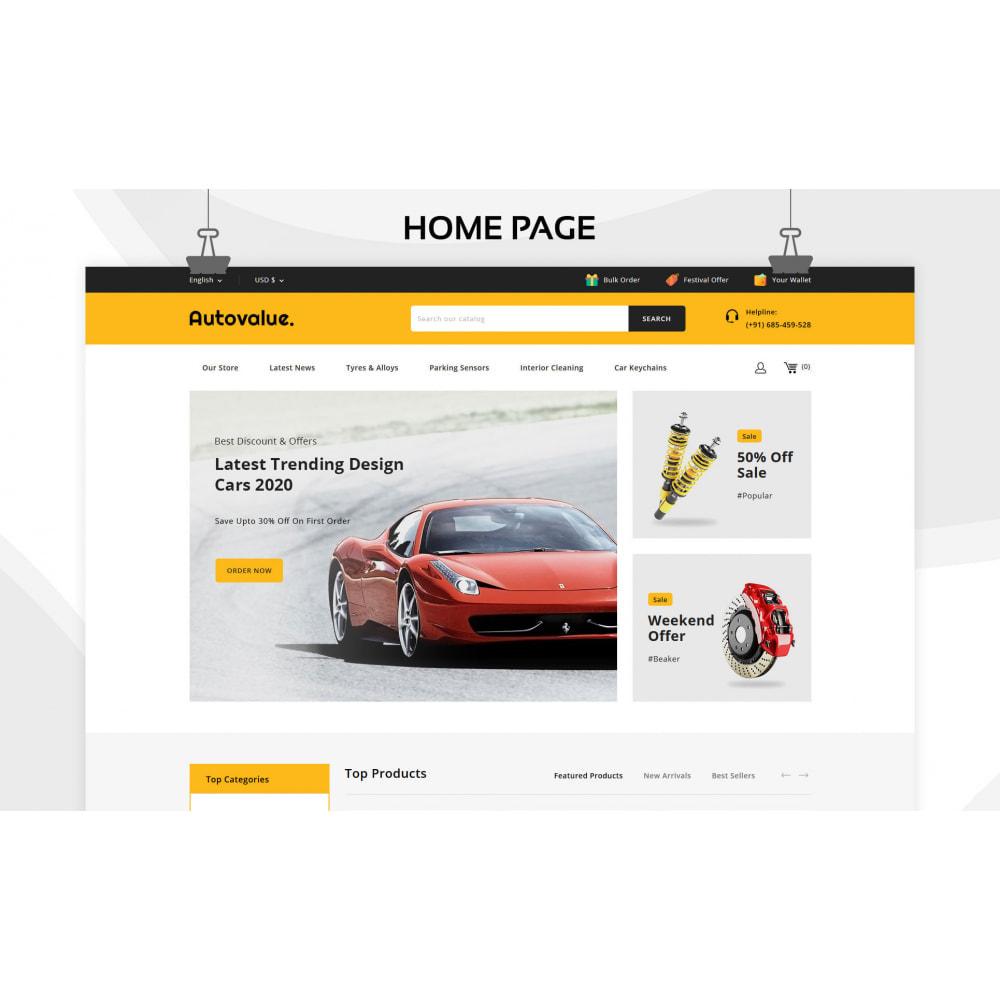 theme - Carros & Motos - Autovalue - The Autoparts Store - 3
