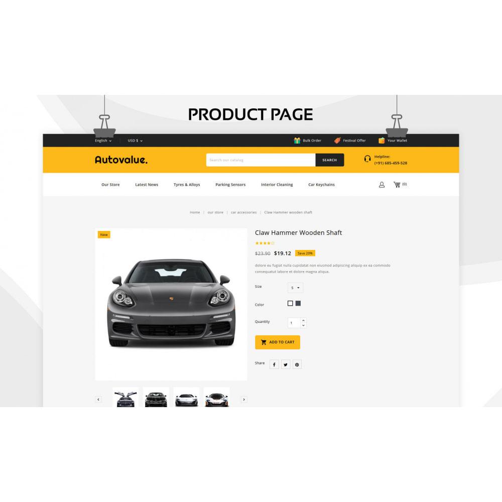 theme - Carros & Motos - Autovalue - The Autoparts Store - 6
