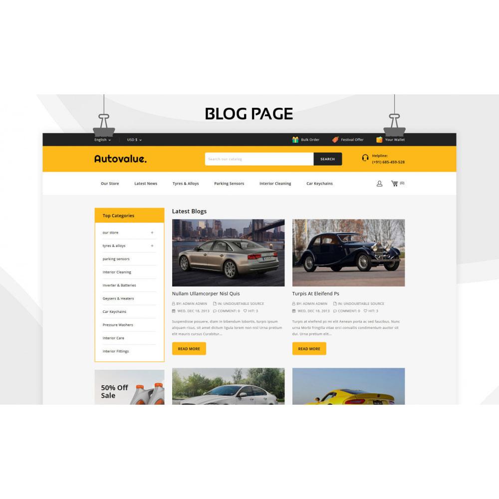 theme - Carros & Motos - Autovalue - The Autoparts Store - 7