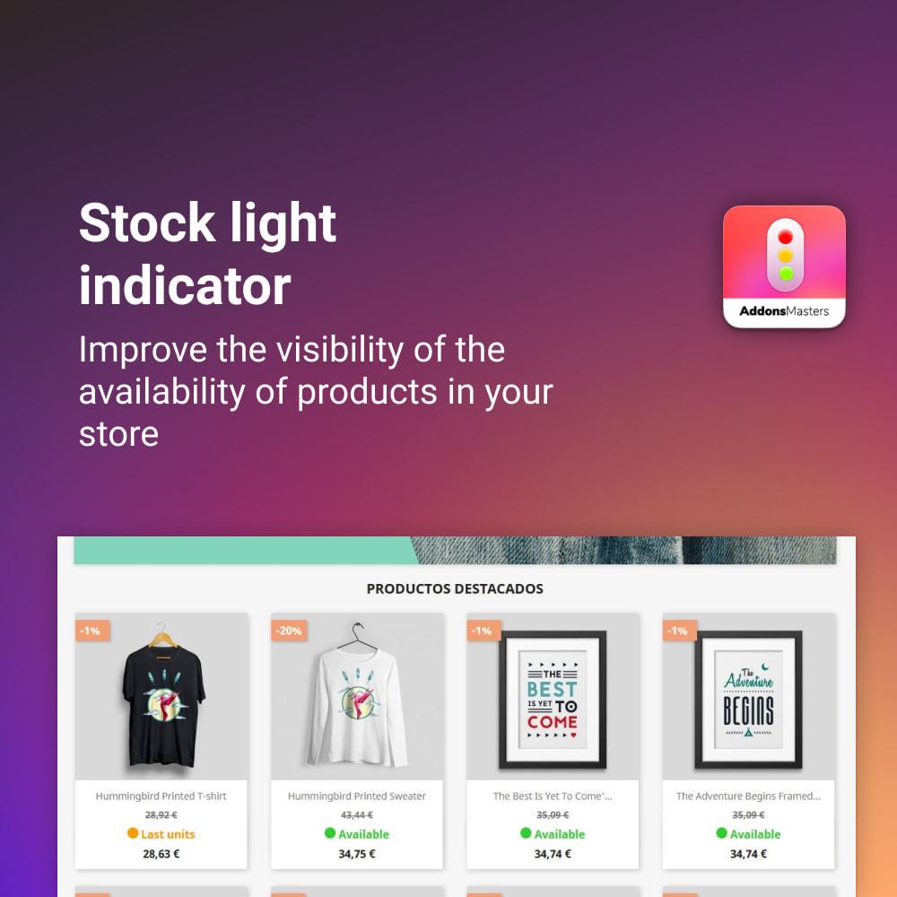module - Gestione Scorte & Fornitori - STOCK LIGHT INDICATOR - 1