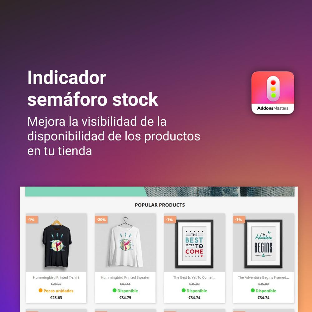 module - Gestión de Stock y de Proveedores - INDICADOR SEMAFORO STOCK - 1
