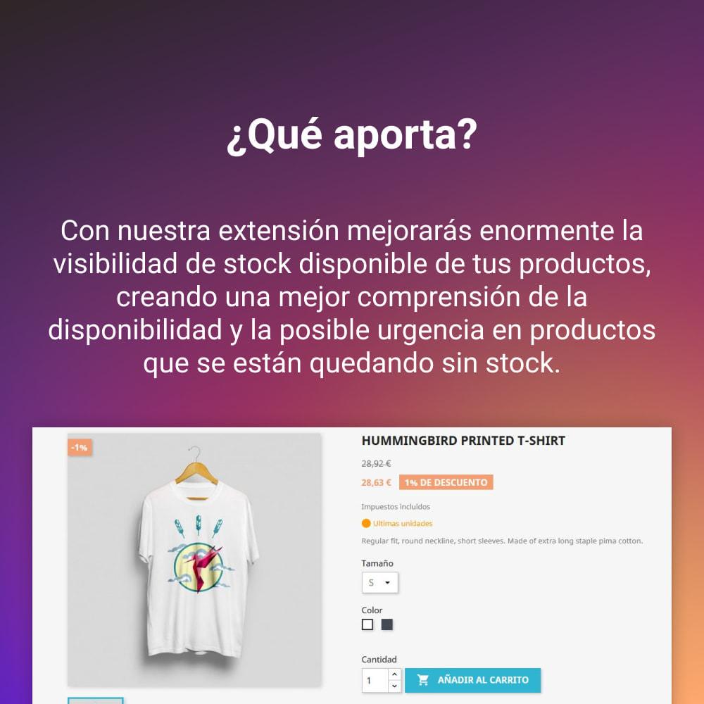 module - Gestión de Stock y de Proveedores - INDICADOR SEMAFORO STOCK - 2