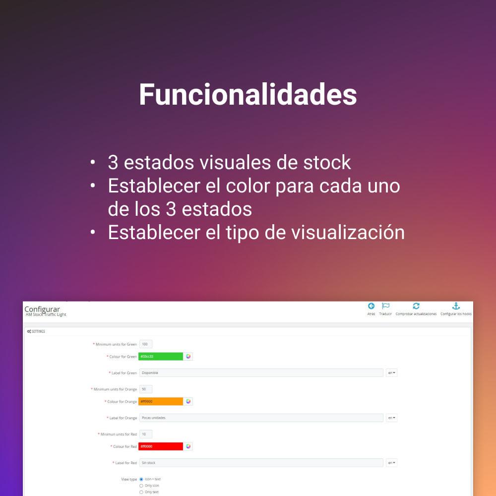 module - Gestión de Stock y de Proveedores - INDICADOR SEMAFORO STOCK - 3