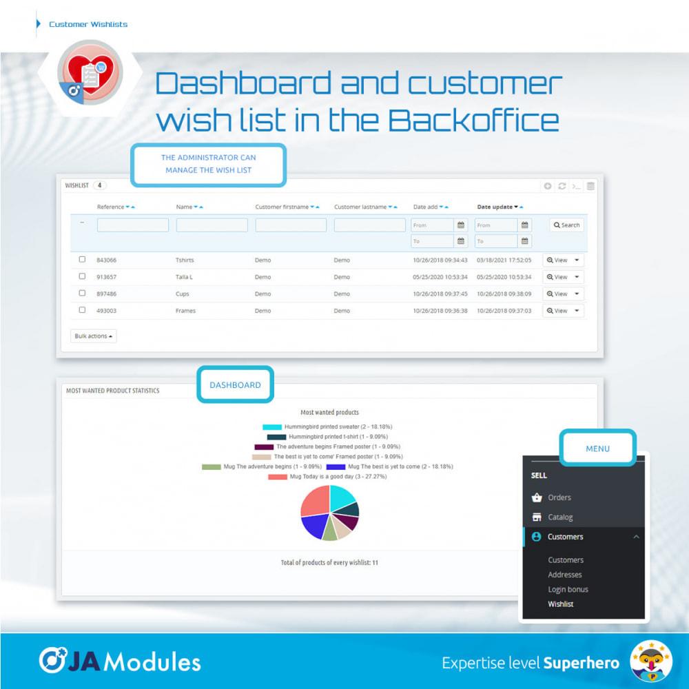 module - Wunschzettel & Geschenkkarte - Customer Wishlists - 8