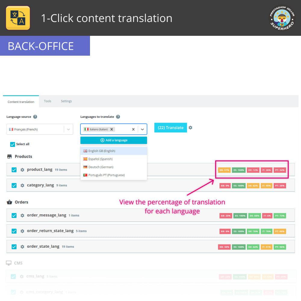 module - Międzynarodowość & Lokalizacja - Przetłumacz treść: Bezpłatne nieograniczone tłumaczenie - 3