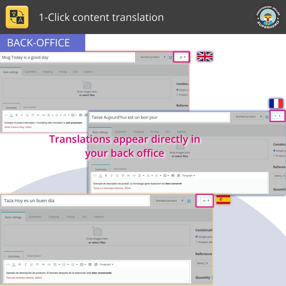 module - Międzynarodowość & Lokalizacja - Przetłumacz treść: Bezpłatne nieograniczone tłumaczenie - 5