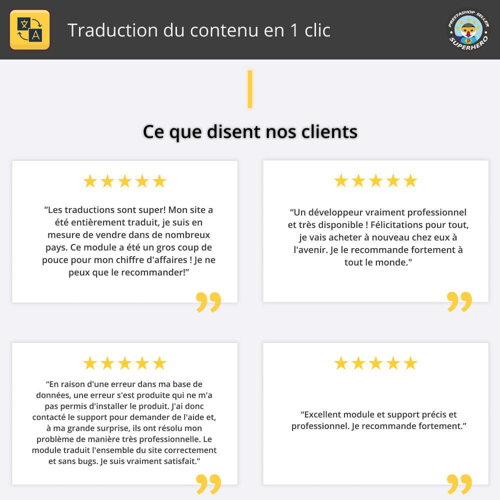 module - International & Localisation - Traduire le contenu - Traduction gratuite et illimitée - 2