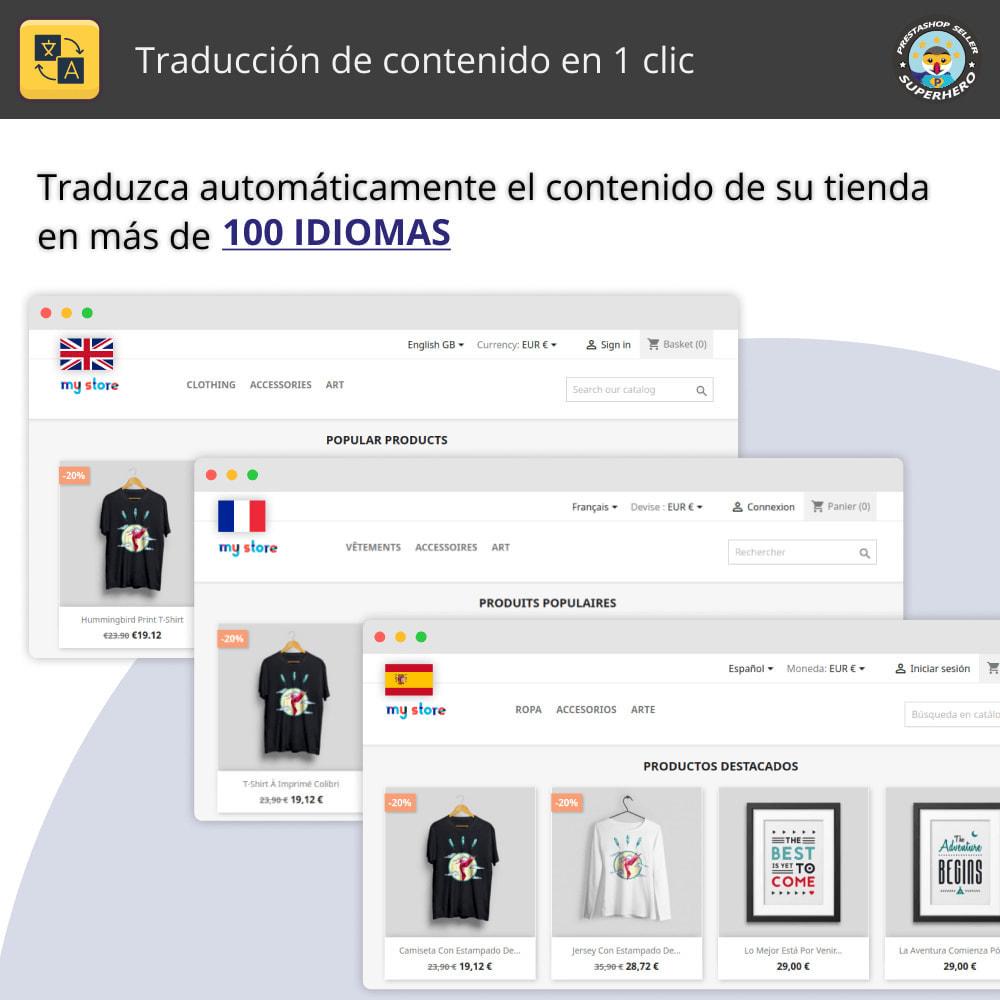 module - Internacionalización y Localización - Traducir contenido - Traducción gratuita e ilimitada - 1