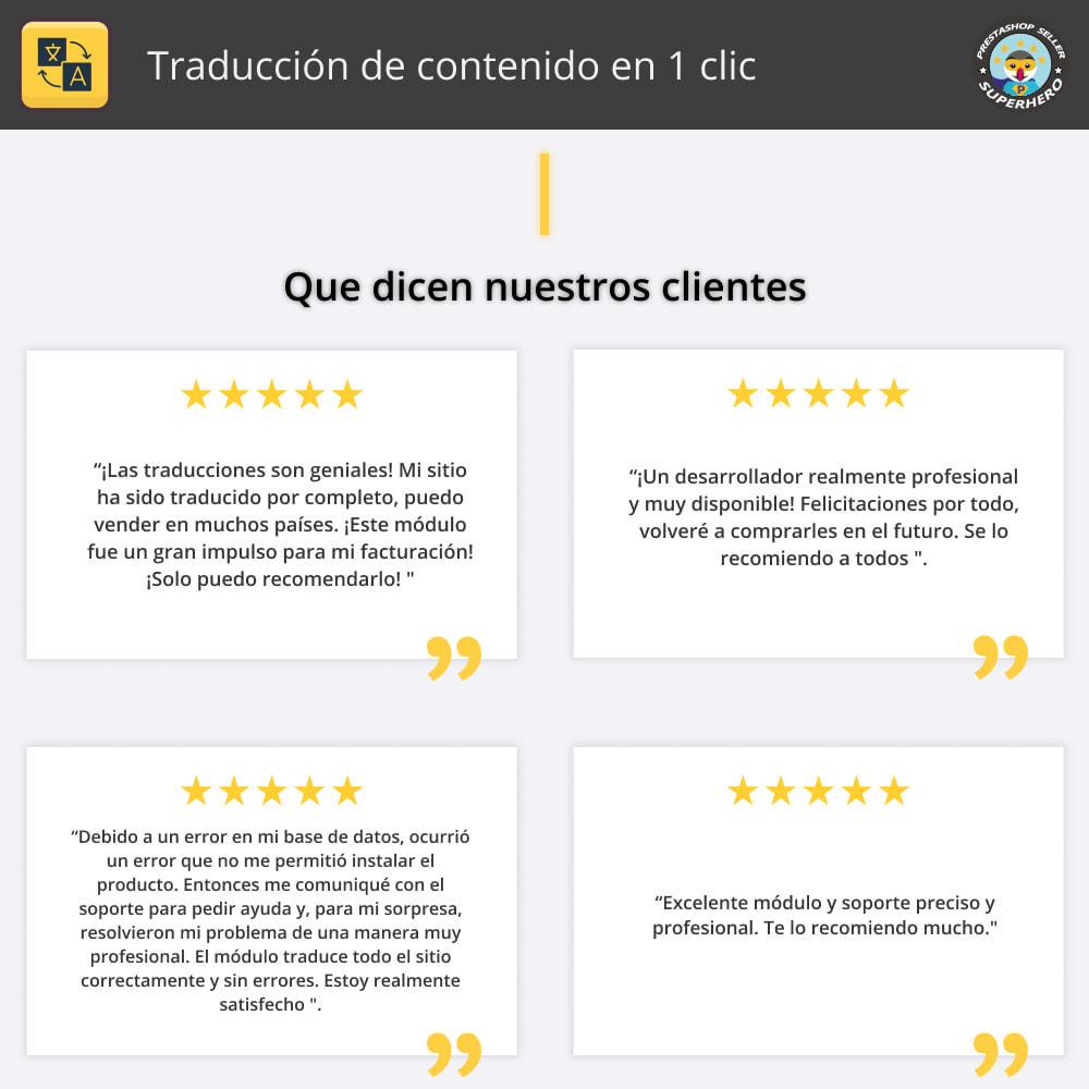 module - Internacionalización y Localización - Traducir contenido - Traducción gratuita e ilimitada - 2