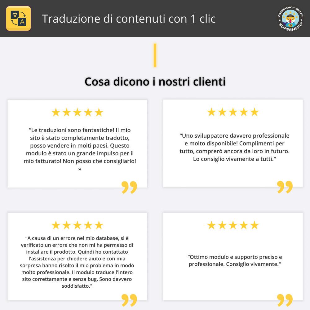 module - Lingue & Traduzioni - Traduci contenuto - Traduzione illimitata e gratuita - 2