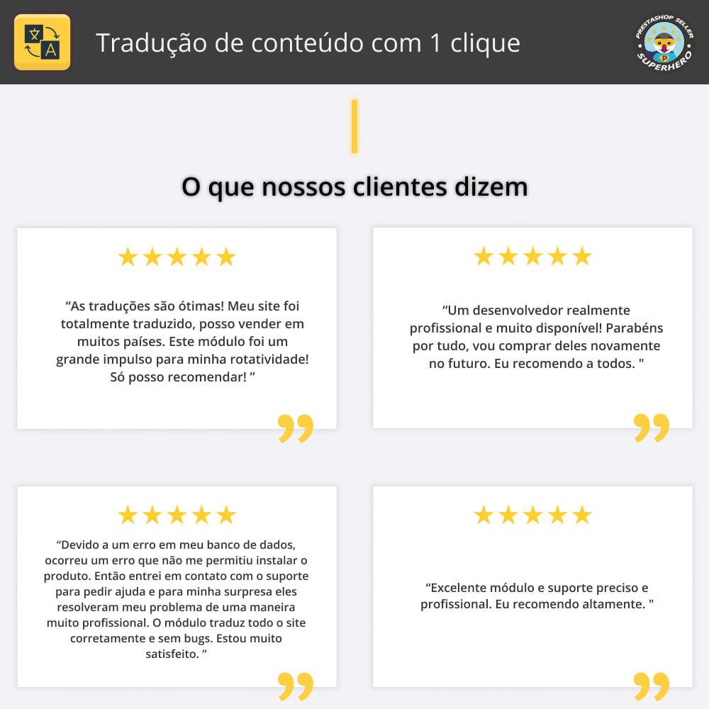 module - Internacional & Localização - Traduzir conteúdo - Tradução gratuita e ilimitada - 2