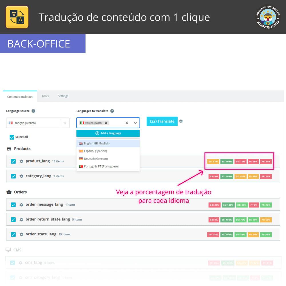 module - Internacional & Localização - Traduzir conteúdo - Tradução gratuita e ilimitada - 3