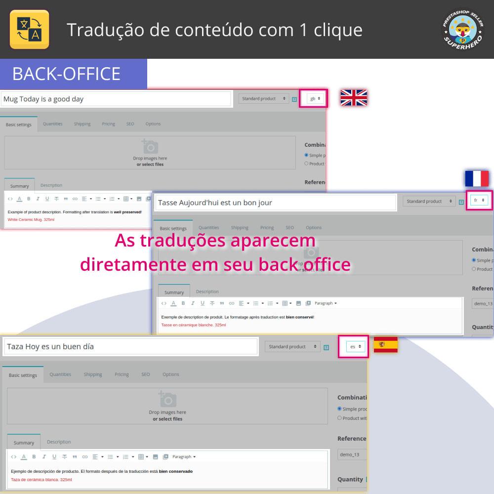 module - Internacional & Localização - Traduzir conteúdo - Tradução gratuita e ilimitada - 5