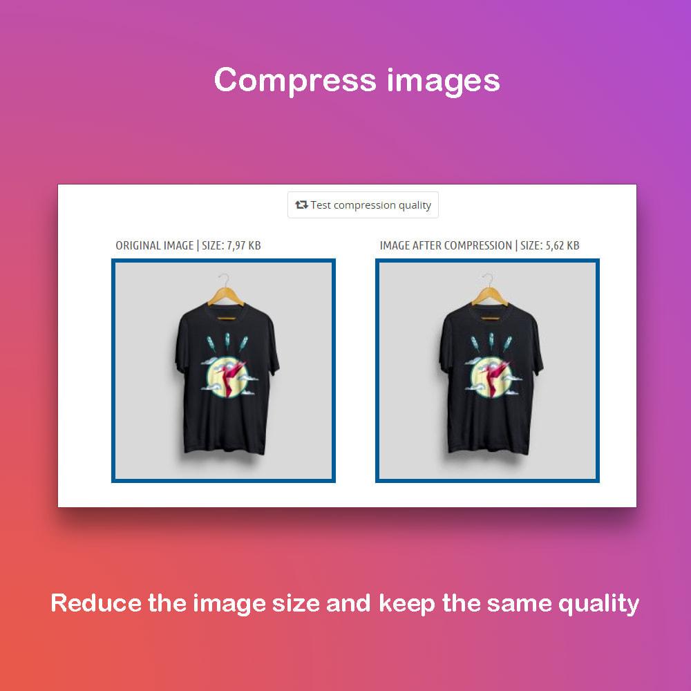module - Visual dos produtos - Professional image processor - 2