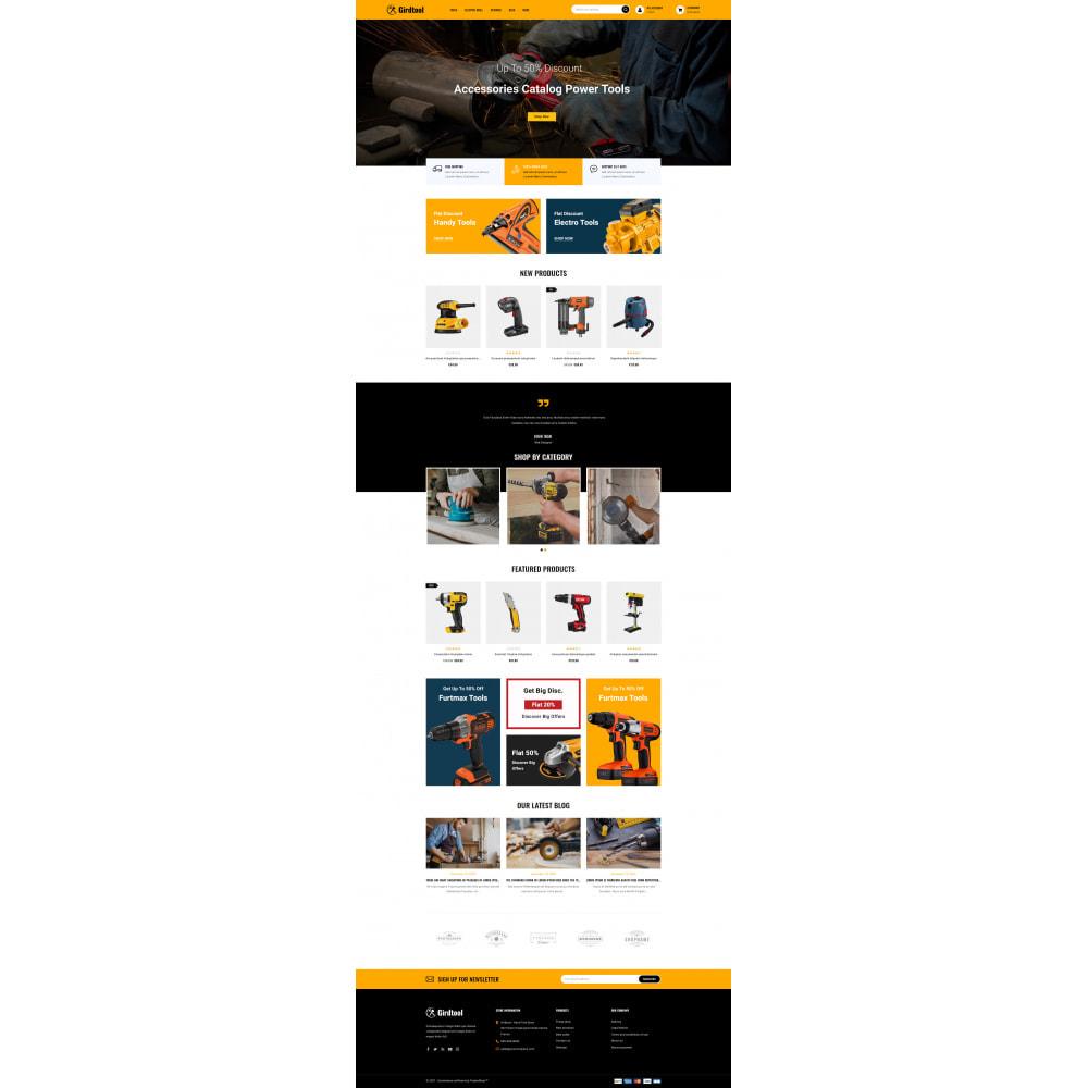 theme - Авто и Мото - Gridtool - Hand Tool Store - 2