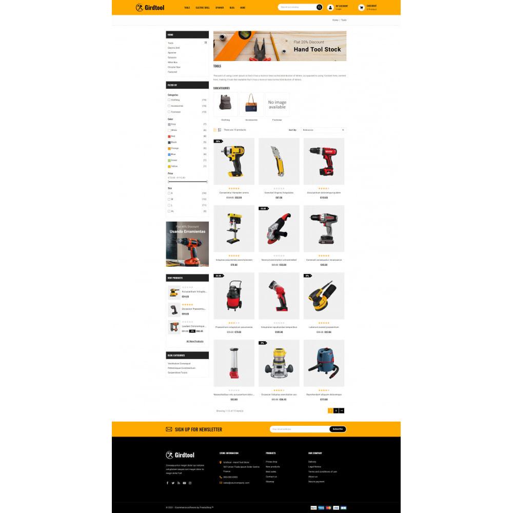 theme - Авто и Мото - Gridtool - Hand Tool Store - 3