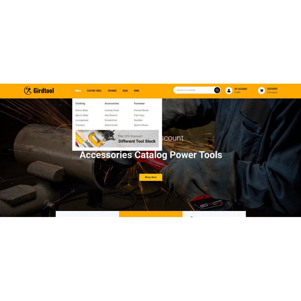 theme - Авто и Мото - Gridtool - Hand Tool Store - 6