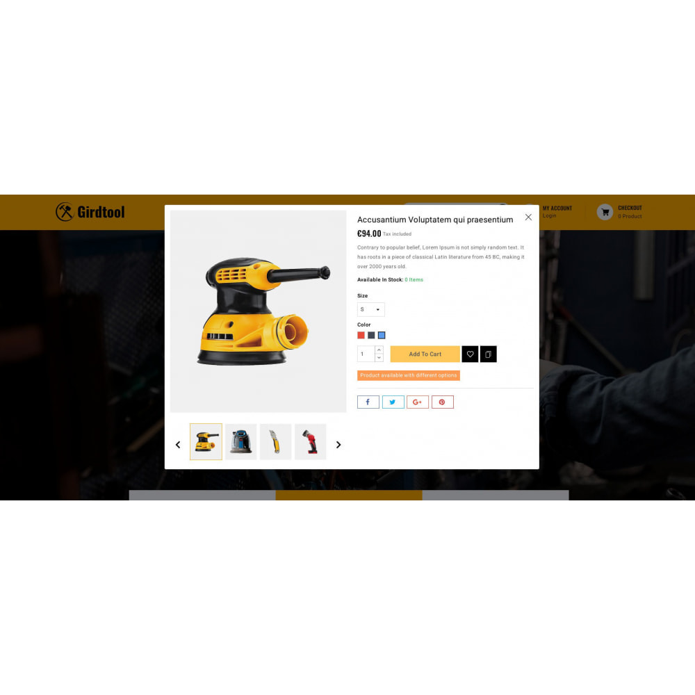 theme - Авто и Мото - Gridtool - Hand Tool Store - 7