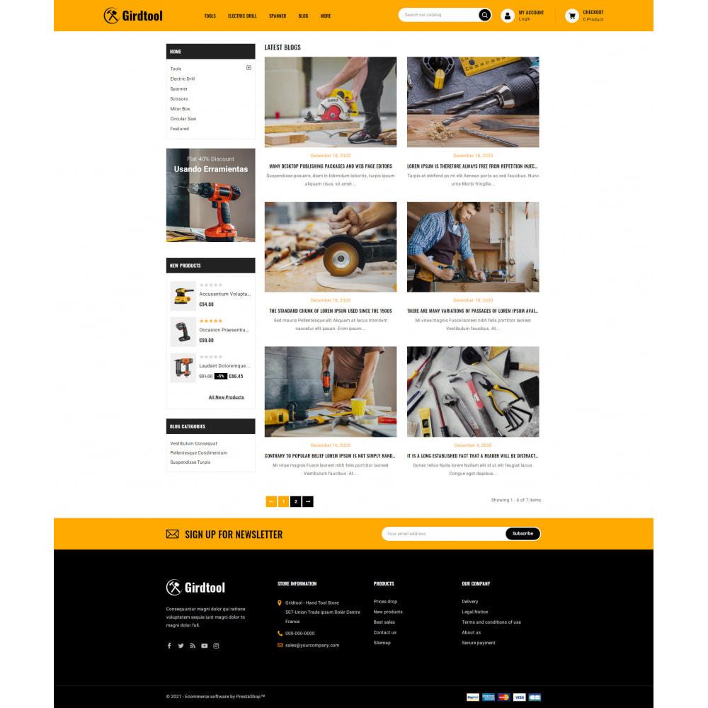 theme - Авто и Мото - Gridtool - Hand Tool Store - 9