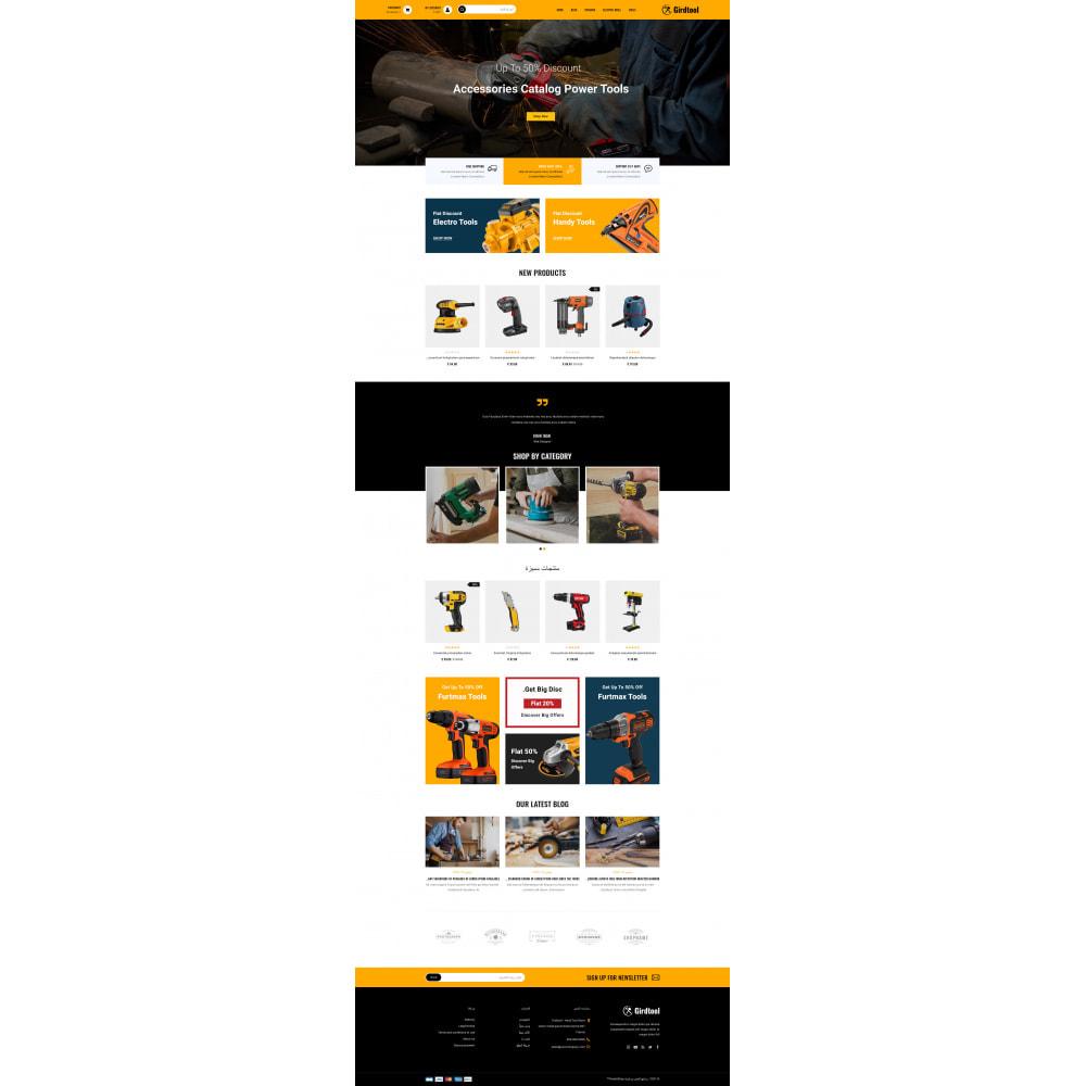 theme - Авто и Мото - Gridtool - Hand Tool Store - 10