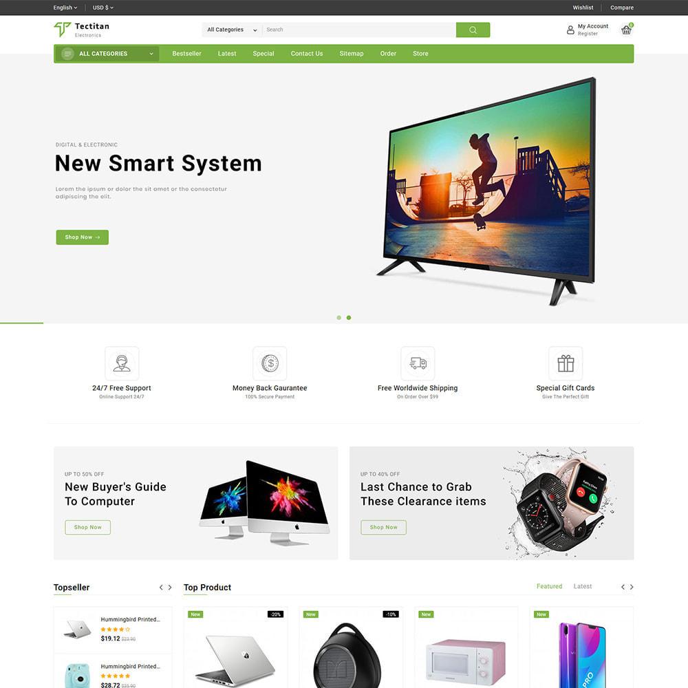 theme - Elektronica & High Tech - Teatitan - Electronics Ecommerce Multipurpose - 2