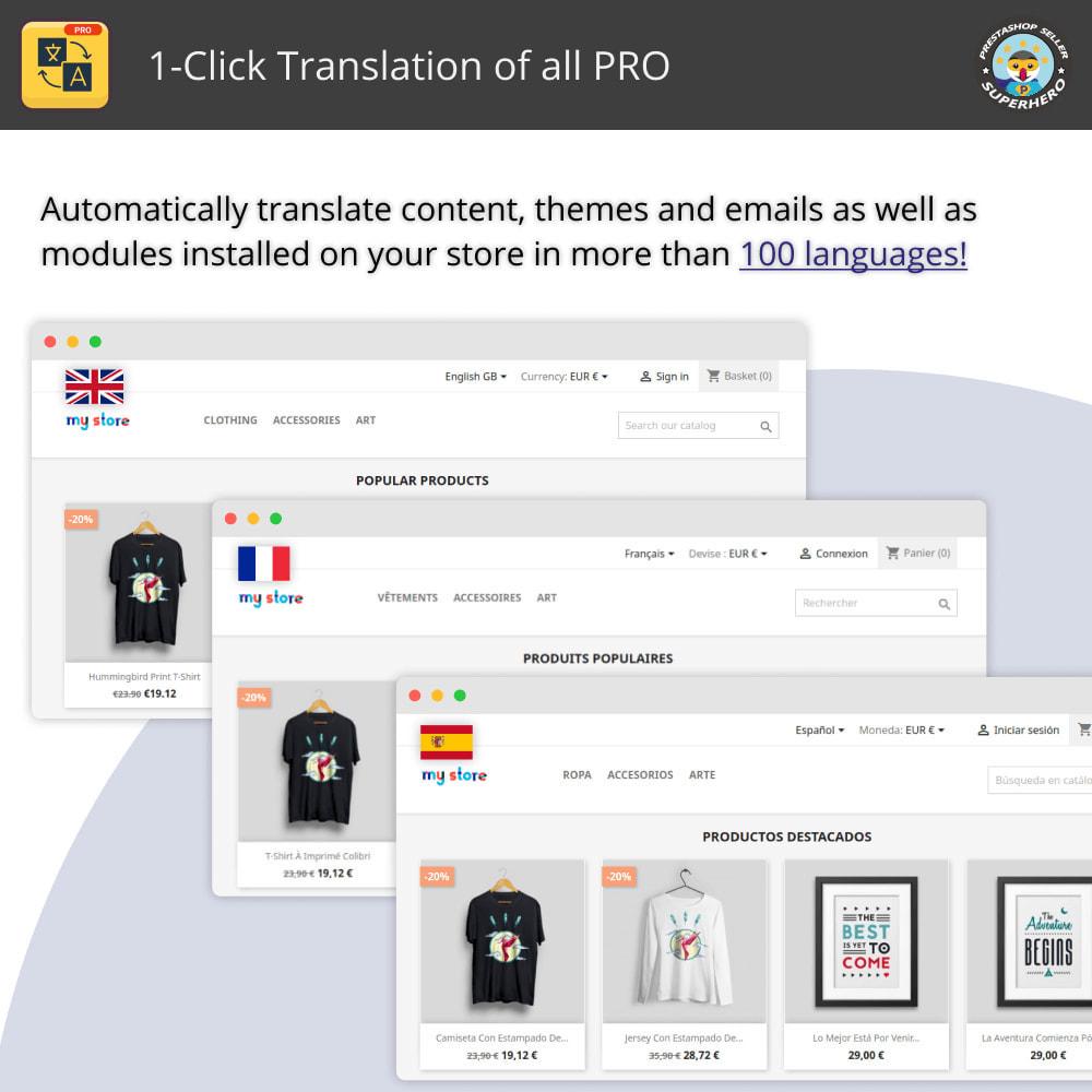 module - Internationaal & Lokalisatie - Alles vertalen - Gratis en onbeperkt vertalen - 1