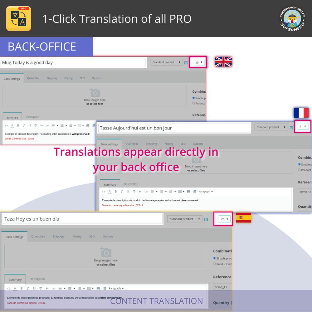 module - Internationaal & Lokalisatie - Alles vertalen - Gratis en onbeperkt vertalen - 5