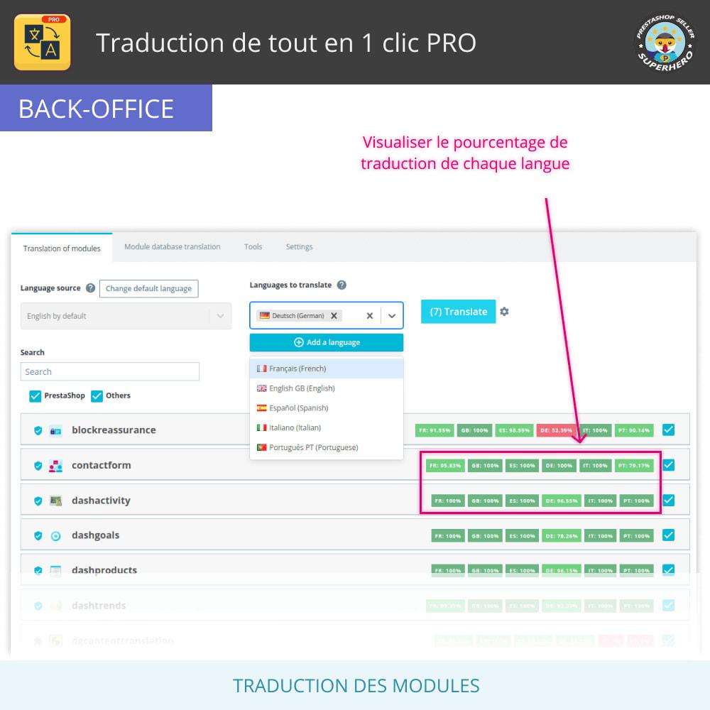 module - International & Localisation - Traduire tout - Traduction gratuite et illimitée - 10