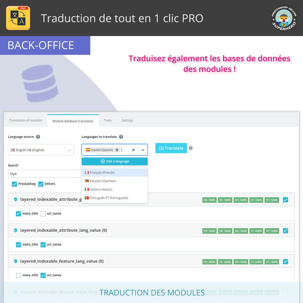 module - International & Localisation - Traduire tout - Traduction gratuite et illimitée - 12