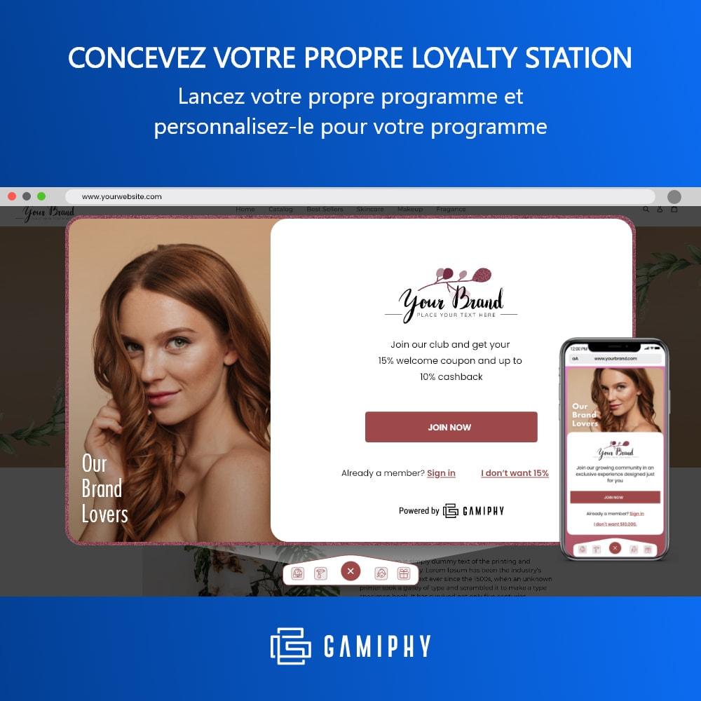 module - Fidélisation & Parrainage - - Loyalty Station - - 1
