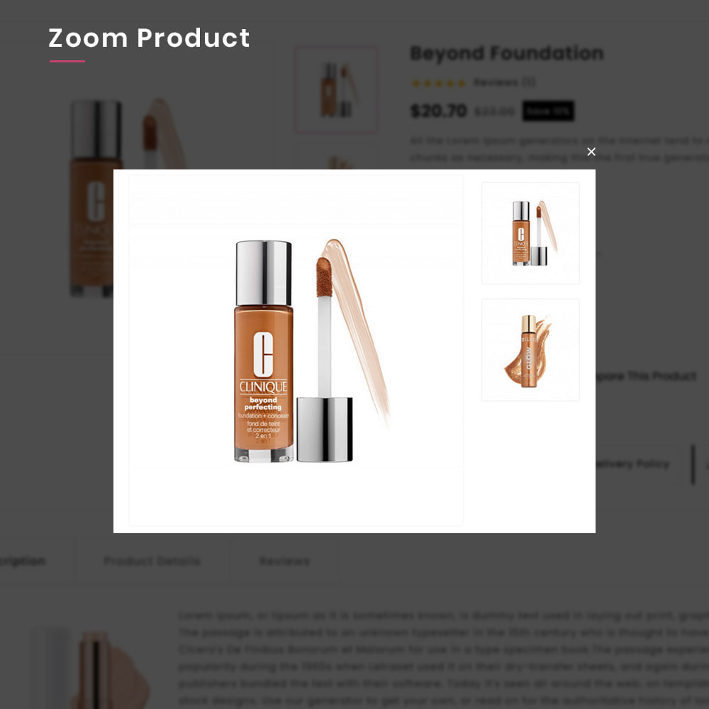 theme - Zdrowie & Uroda - Costery Mega Cosmetics–Perfume Health–Beauty SuperStore - 8