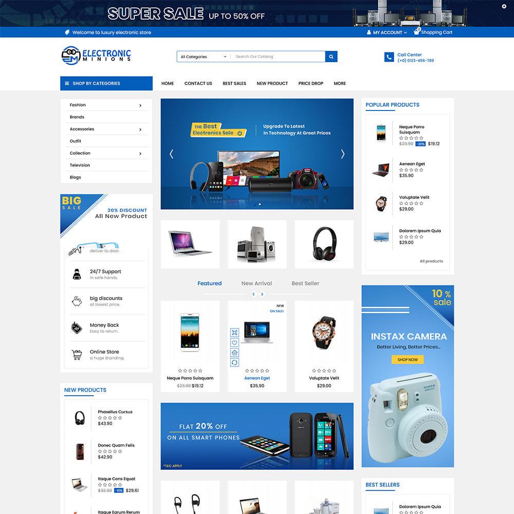 theme - Electrónica e High Tech - Metro Mega Electronics Multi Store - 1