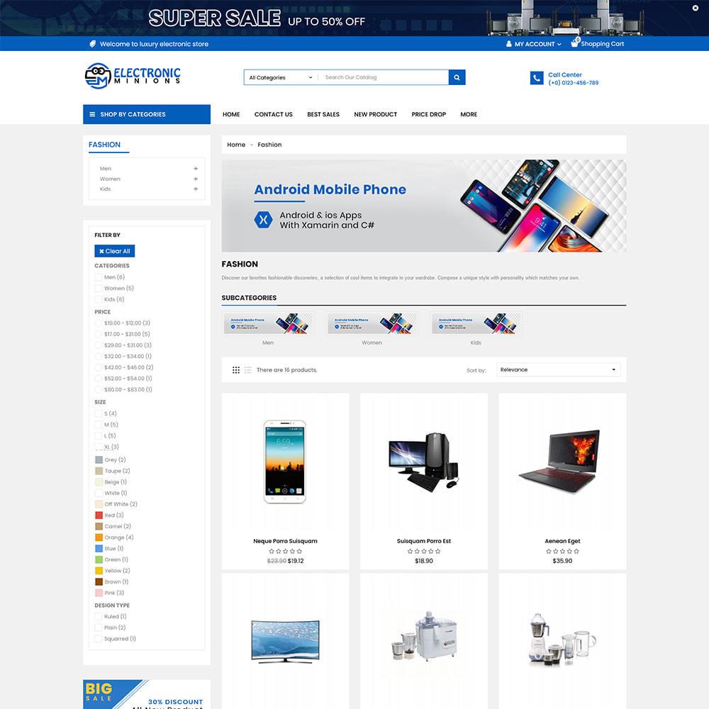 theme - Electrónica e High Tech - Metro Mega Electronics Multi Store - 2
