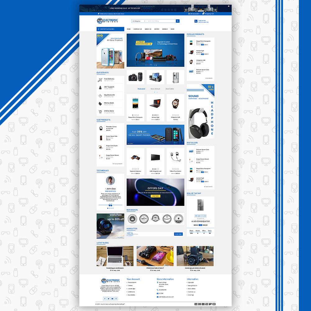 theme - Electrónica e High Tech - Metro Mega Electronics Multi Store - 3