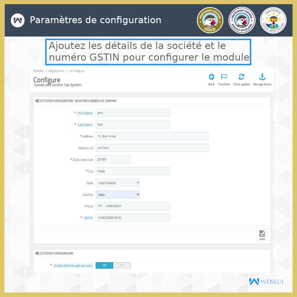 module - Contabilidade & Cobrança - GST - Returns and Invoices - 9