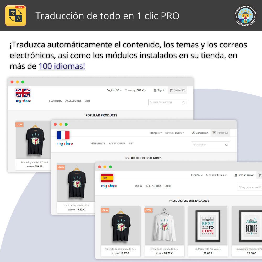 module - Internacionalización y Localización - Traducir todo - Traducción gratuita e ilimitada - 1