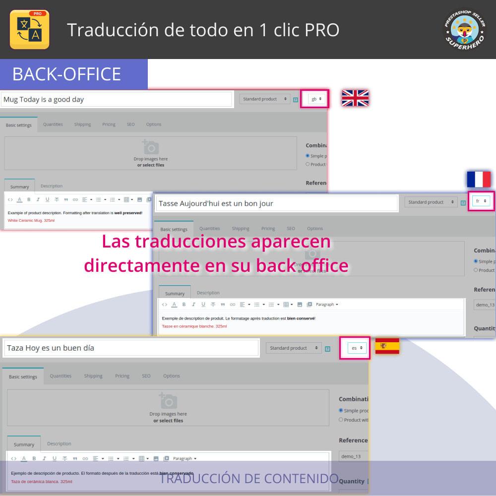 module - Internacionalización y Localización - Traducir todo - Traducción gratuita e ilimitada - 5