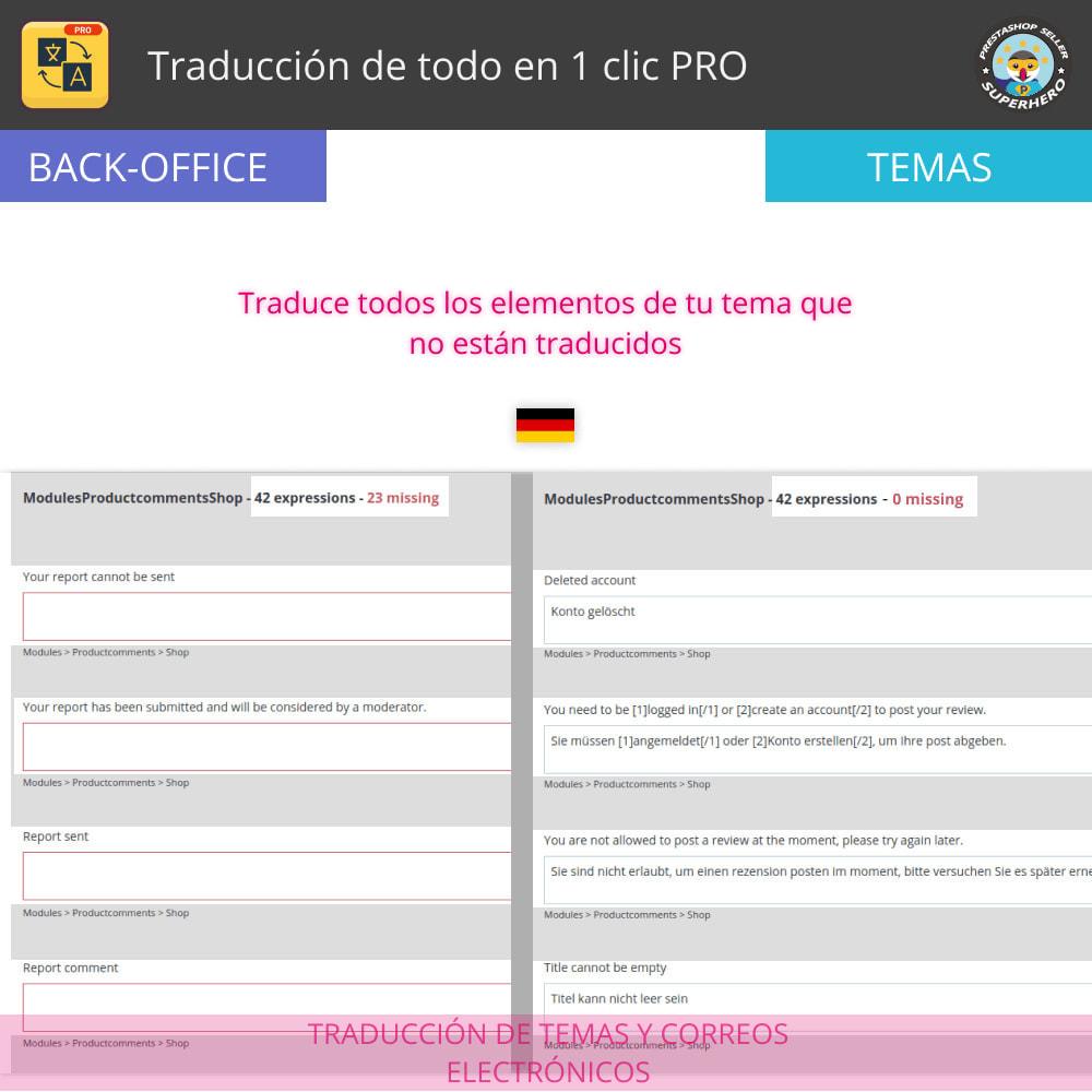module - Internacionalización y Localización - Traducir todo - Traducción gratuita e ilimitada - 6