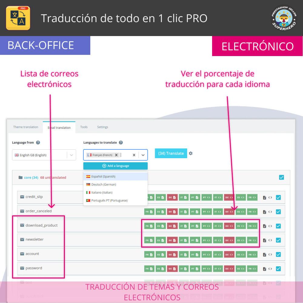 module - Internacionalización y Localización - Traducir todo - Traducción gratuita e ilimitada - 9
