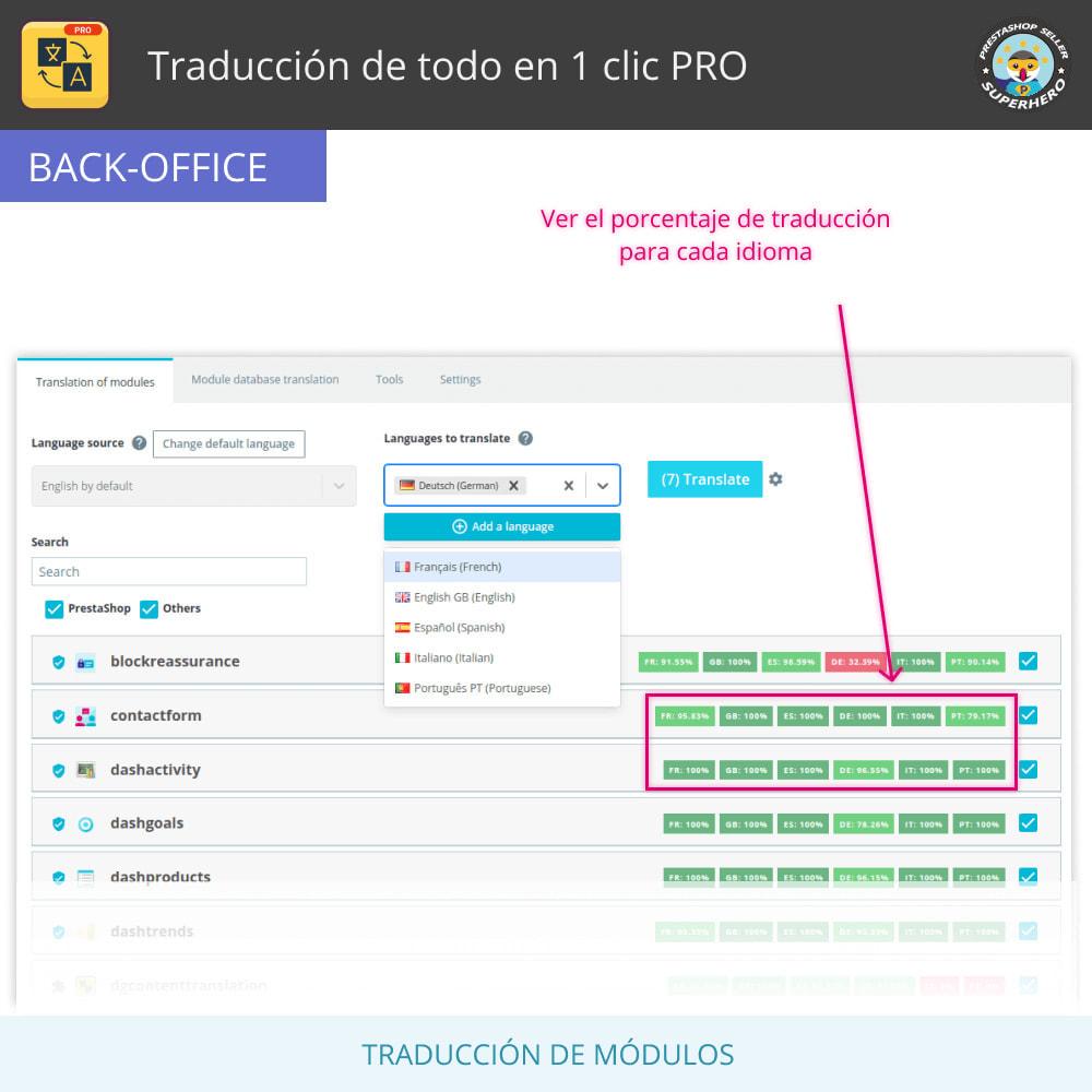 module - Internacionalización y Localización - Traducir todo - Traducción gratuita e ilimitada - 10