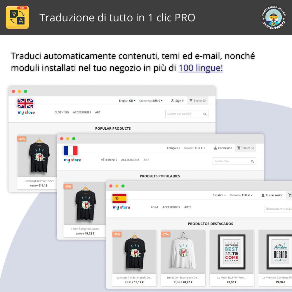 module - Lingue & Traduzioni - Traduci tutto - Traduzione illimitata e gratuita - 1