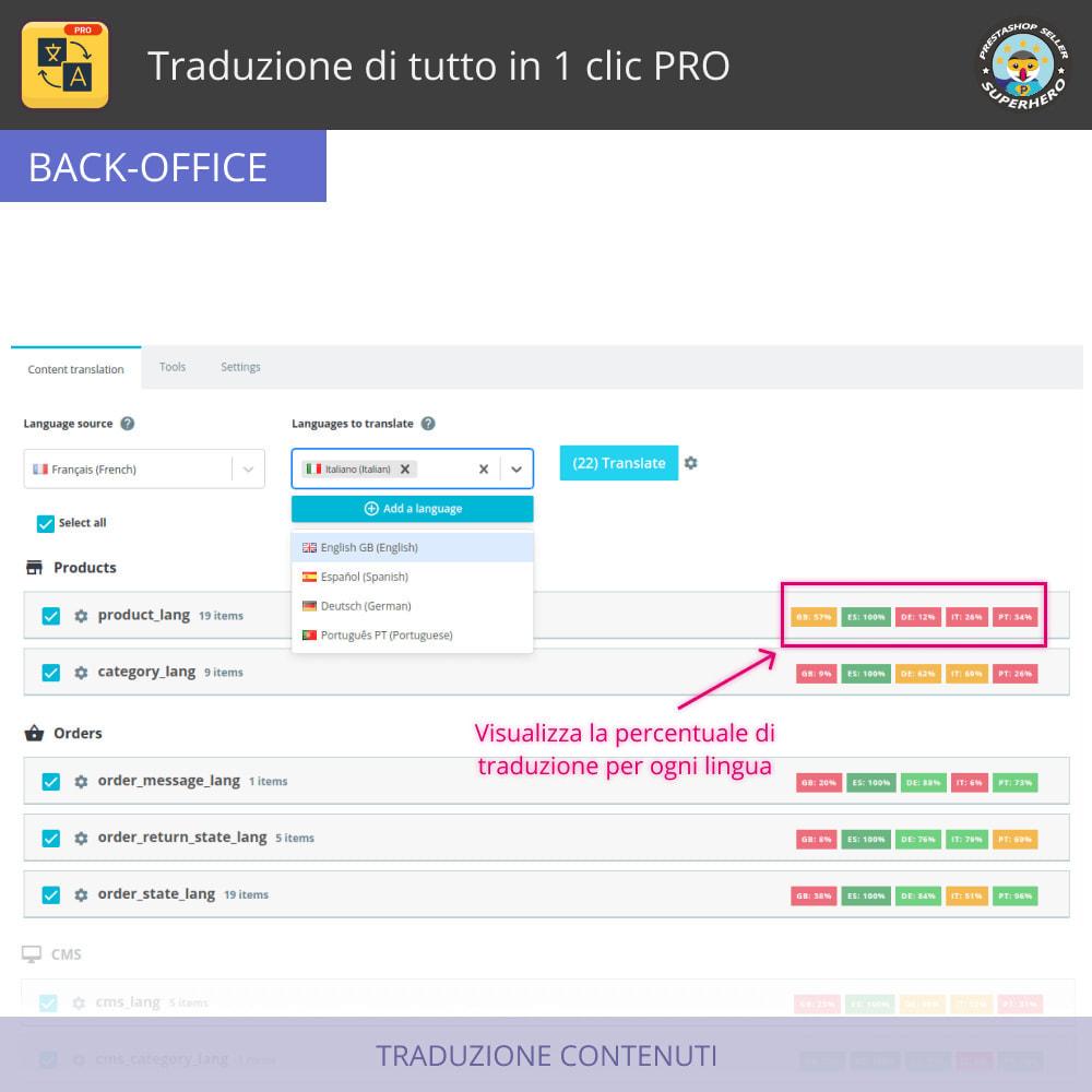 module - Lingue & Traduzioni - Traduci tutto - Traduzione illimitata e gratuita - 3