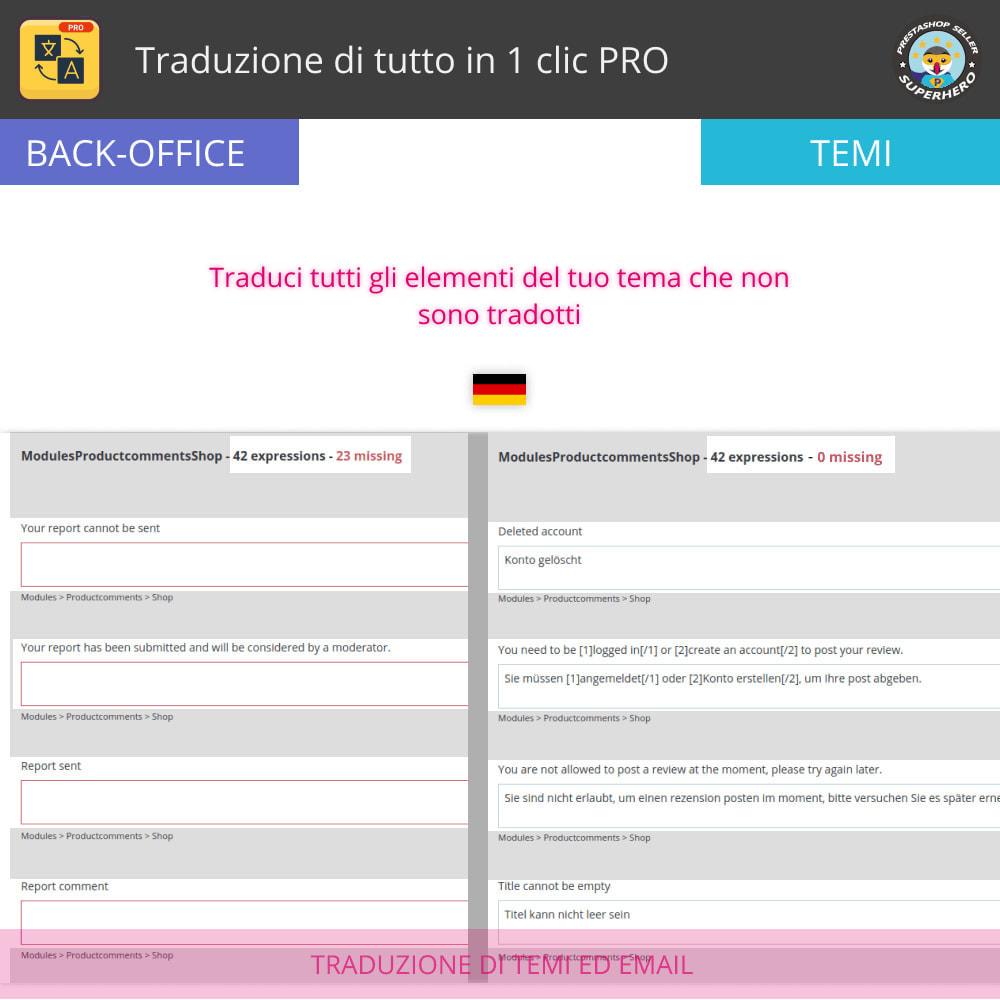 module - Lingue & Traduzioni - Traduci tutto - Traduzione illimitata e gratuita - 6