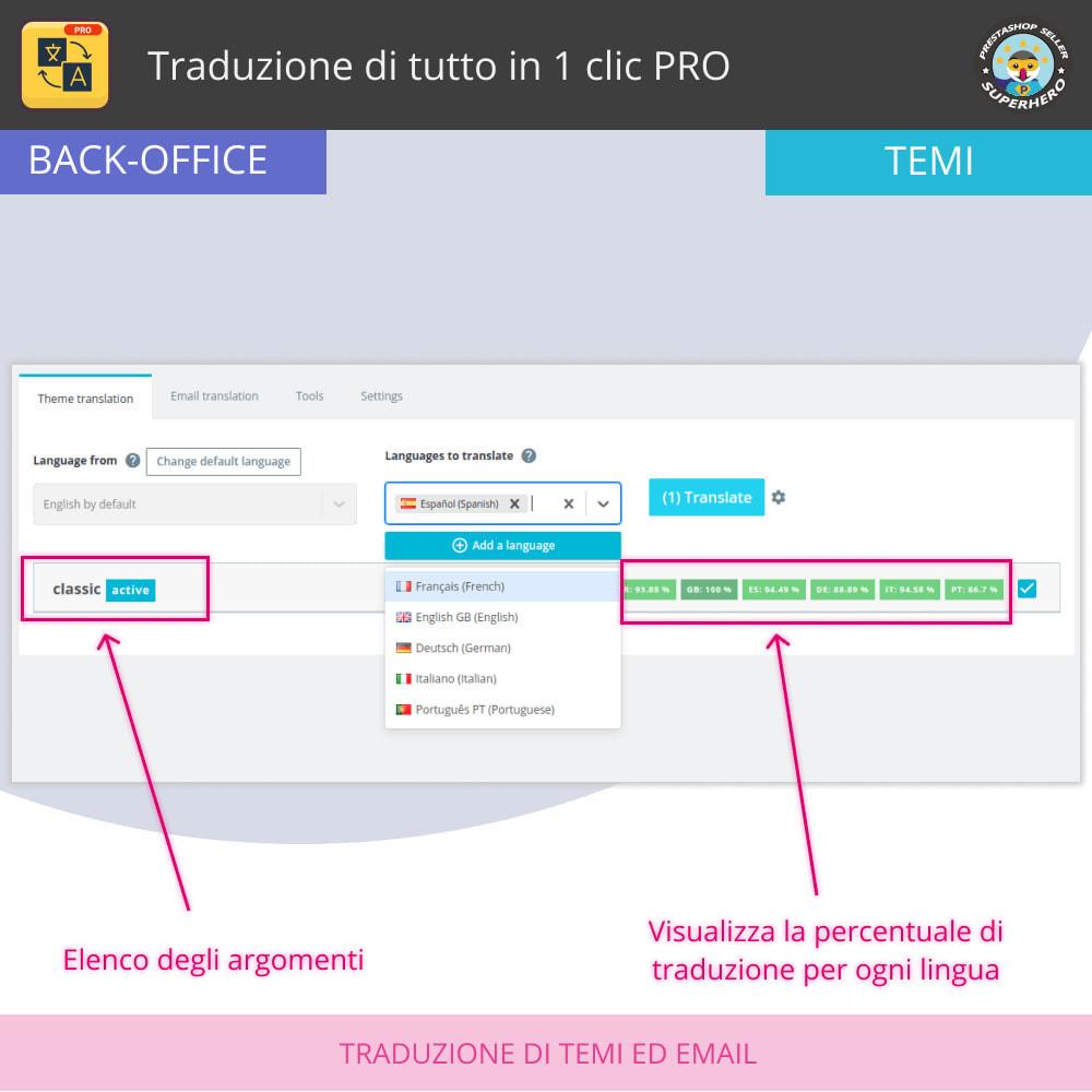 module - Lingue & Traduzioni - Traduci tutto - Traduzione illimitata e gratuita - 7